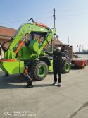 Chinese Backhoe loader to Jamaica