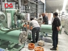 large flow disk type horizontal bead mill for thermal paper