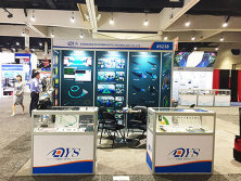 DYS exhibited in OFC 2018 during 13-15 March in San Diego