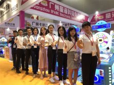 Sale Team in the GTI Asia China Expo 2018
