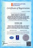 ISO9001 For OED Company