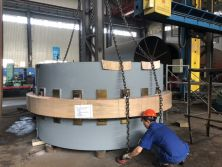 Two Sets of Tyre and Shell Assembly Deliveryed to Indonesia