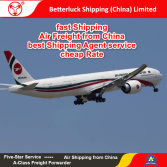 Reliable Air Freight agent from China to South Europe Logistics services