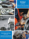 MATERIALS in-COMING, MACHINING and in-PROCESS CONTROL