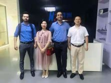 Buhler UK Purchasing team Soham and Wellington Barreto visit Hongzhou