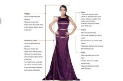 How to measure for Bridal wedding dresses