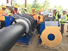 800mm hdpe pipe welding