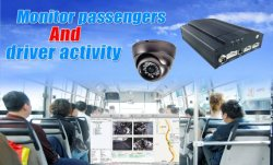 Track, Record & Video Stream With MDVR GPS Tracking