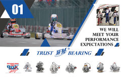 WM BEARING IS RACING IN THE ROK CUP