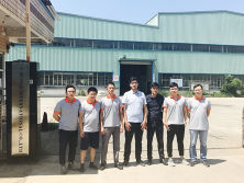 Turkmenistan Clients Visit us for steel roofing sheet