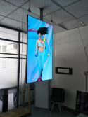 New Design 55inch OLED Double-Sides Wall