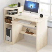 YIJIA E1 melamine particle board/MDF office computer table