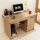 Modern Study Desk with 3 Drawer