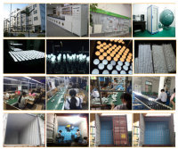 our LED light and energy saving bulb factory