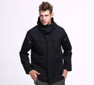 2-Colors Esdy Men′s Jacket Outdoor Tactical Warm Coat Combat Windbreaker