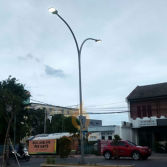 Smart led street light with Lora system