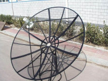 Mesh C band 180cm/210cm satellite dish antenna