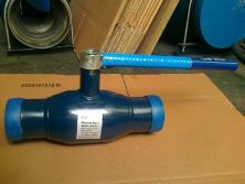 Fully welded ball valve2