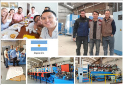 Engineer Install Machine in Argentina