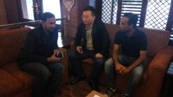 Hongjun sales director visit Bangladesh customers for Liugong cooperation!