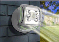 Sharper Image Wireless LED Porch Light