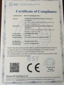 LED Rechargeable Bulb CE Certificate