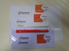 Adhesive pvc film printed samples