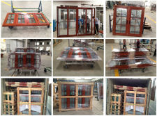 Aluminum Thermal Break Windows and Doors for Philippines Villa