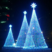 Led new RGB Christmas Tree Light for 2014 christmas decoration BW-CBT-011