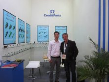 2012 Shanghai Automechanika Show-with Argentina customer
