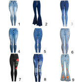 fashion woman jeans