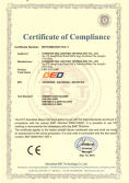 CE Certificate for LED G12 lamps