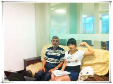The customer from Indian came to DONGFANG office