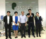 Visit by Japanese customers