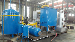 Scrap plastic fully continuous pyrolysis plant