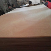 Okoume face and back commercial plywood