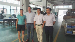 21th Sep. Belgium Customer Mr. Mario visit our factory