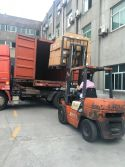 loading container to Europe with flocked item
