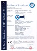 CE Certificates for Washer Extractor