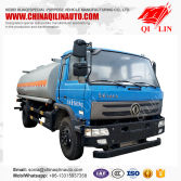15000 liters euro 4 emission fuel tank truck with cummins engine