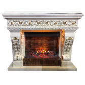 3D Flame Electric Fireplace