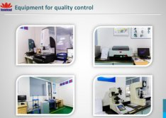 Equipment for Quality Control