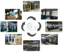 Production process for fitness gym equipment