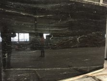 Brazil Via Lactea Black Granite for Project