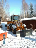 MR936 MOUNTAIN RAISE WHEEL LOADER IN COLD CONDITION