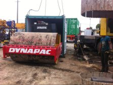 Used Dynapac CA30D Road Roller Sold out to Ecuador