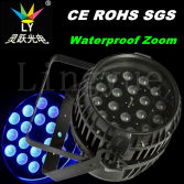 Stage Wedding 18X18W RGBWA UV 6in1 LED Zoom PAR Light