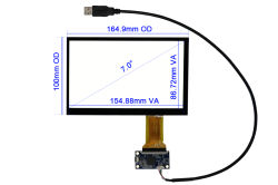 "7"" Capacitive Touch Screen CT-C8085"