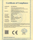 CE certificate of metal halide lamp