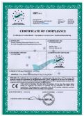 CERTIFICATE OF COMPIANCE